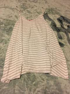 Tigerlily stripe swing dress size 10
