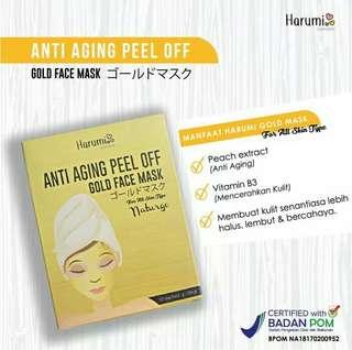 Harumi masker gold