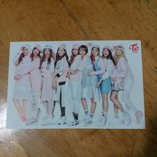 Twice postcard