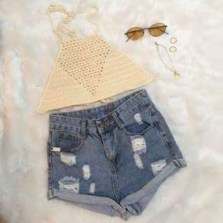 Mae crochet top