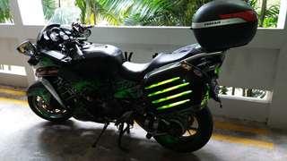Kawasaki Gtr 2011 for COI  coe until 2021 May