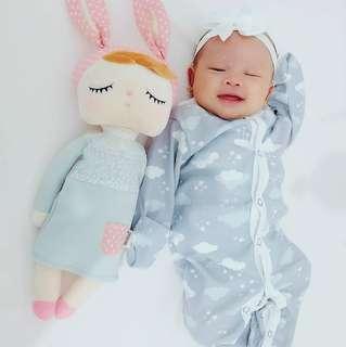 🚚 (3-6) Baby sleepsuit