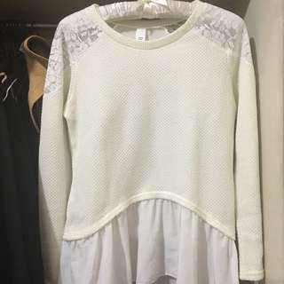 Laced Sweater