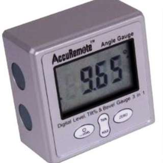 Accuremote Inclinometer Magnetic Angle Level Protractor