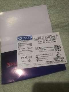 SS7 Manila ticket