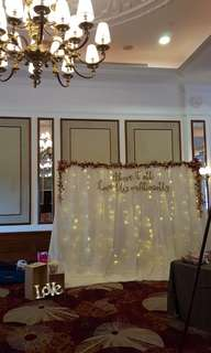 [Rental] Photobooth Backdrop