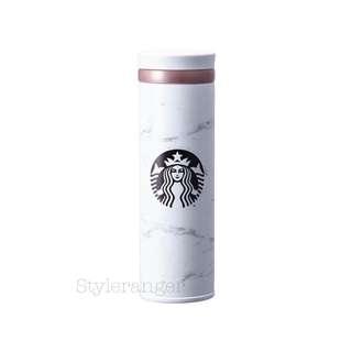 🇰🇷韓國2018 Starbucks雲石紋保溫杯