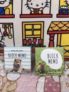 日本🇯🇵🇯🇵秋田犬Memo Pad