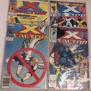 Vintage X-Factor comic books