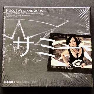 何韻詩 HOCC『WE STAND AS ONE.』(🇭🇰香港版) (新品未開封)