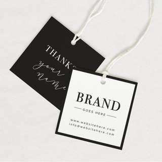Clothes Label Fashion Branding Graphic Design