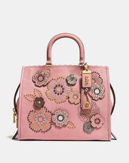 Rogue With Snakeskin Tea Rose Rivets