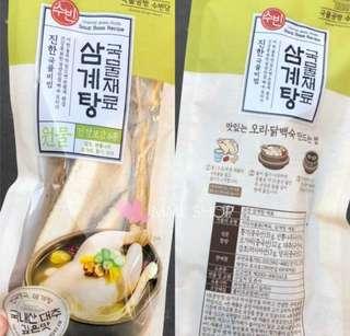 ❤️韓國人蔘雞湯包❤️