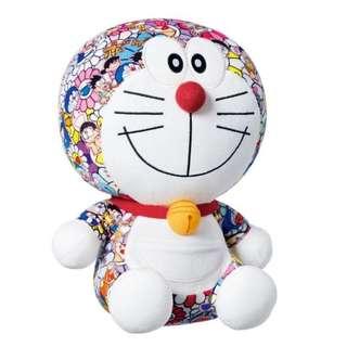 村上隆 x 哆啦A夢 聯名款  小叮噹娃娃 (日本帶回,現貨一)
