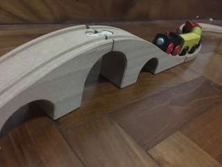 IKEA wooden train
