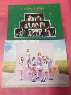 Twice 專輯附送postcard