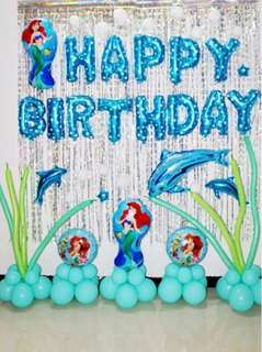 Mermaid Birthday Party Decoration