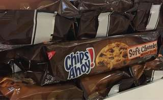Chips Ahoy Soft Chunky Peanut Butter