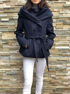 Royal Blue Coat with Hood