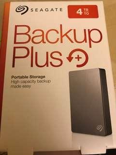 Seagate 4TB Backup Plus HD