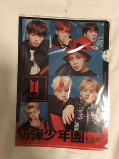 Unofficial BTS 防彈少年團 Face Yourself A4 folder file