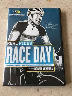 Race Day Cycling DVD - High Intensity Criterium Racing Simulation with Robbie Ventura