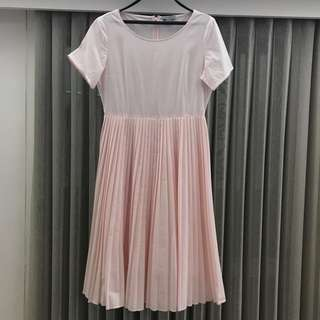 COS pleated dress