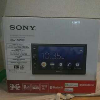 Sony XAV-AX100 Car Stereo Set