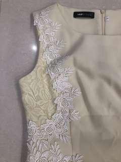 Beige dress size L