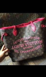 LV NEVER FULL MM IKAT LIMITED EDITION