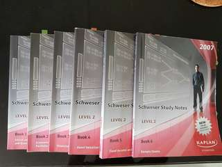 CFA level 1 and 2 books