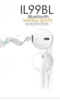 獨家限量版藍牙耳機IL99BL  Bluetooth Headset
