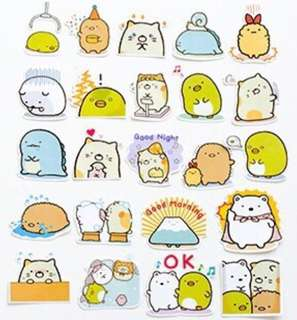 🌟BN INSTOCKS Sumikko Gurashi Stickers Pack