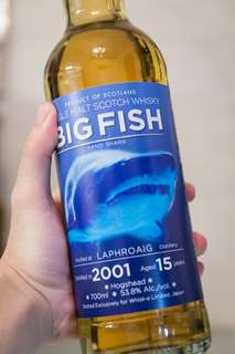 "Laphroaig 2001 15 years old ""Big Fish"" by Whisk-e"