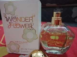 (reprice) parfum wonderflower edt Oriflame