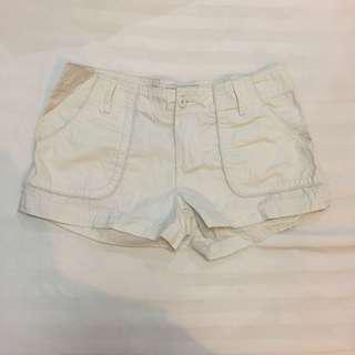 NEW! MATH C Khaki Micro Shorts