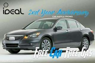WIN A FREE CAR 🚗 WITH FREE GAS ⛽, BE A DEALER NOW!!