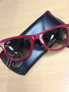 Ray Ban Sunglass - Red