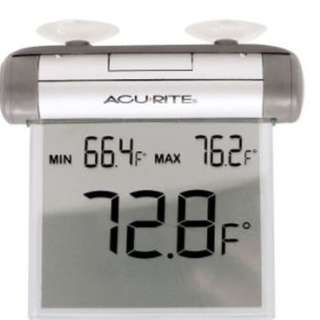 AcuRite 00603A1 Digital Indoor Outdoor Window Thermometer