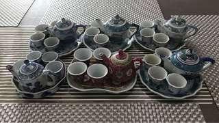 Mini tea set all to go at one price