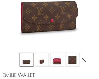 Authentic LV wallet Louis Vuitton
