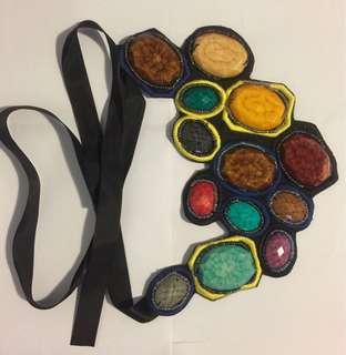 (marni lookalike) multi colored necklace