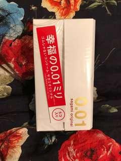 🚚 日本🇯🇵代購 幸福的❤️ 相模 001 /5入裝