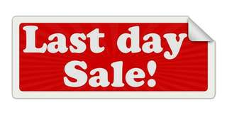 LAST DAY SALE!!!