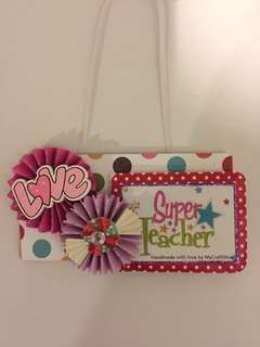 Super Teacher tag