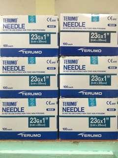 Terumo Needles Gauge 23