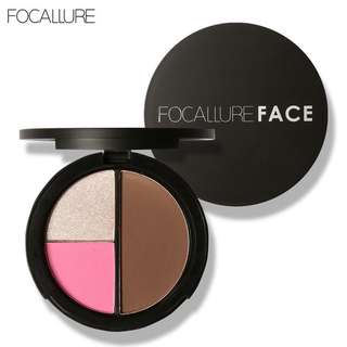 Focallure Palet 3in1