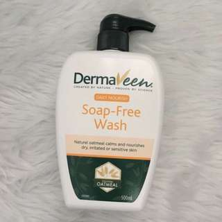 DERMAVEEN SOAP FREE WASH