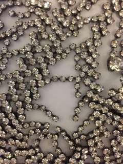 (swarovski style) multi use belt/ necklace