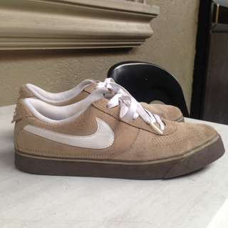 Nike SB brown shoes